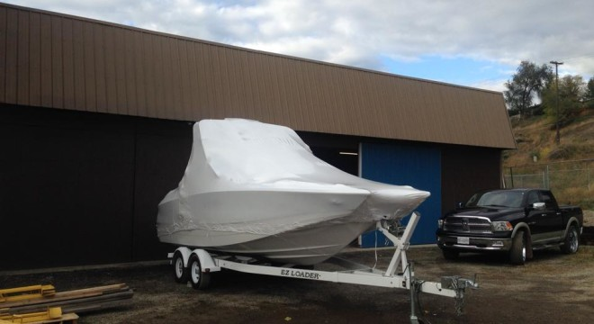 Winter Boat Storage Vernon BC